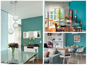 5 Truques para viver bem e simplificar a decoração em um apartamento pequeno.