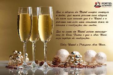 Desejamos a todos um Feliz Natal e que o Ano Novo traga muitas felicidades e realizações.