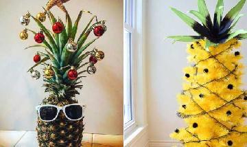 Inspiração: Decoração tropical para o Natal